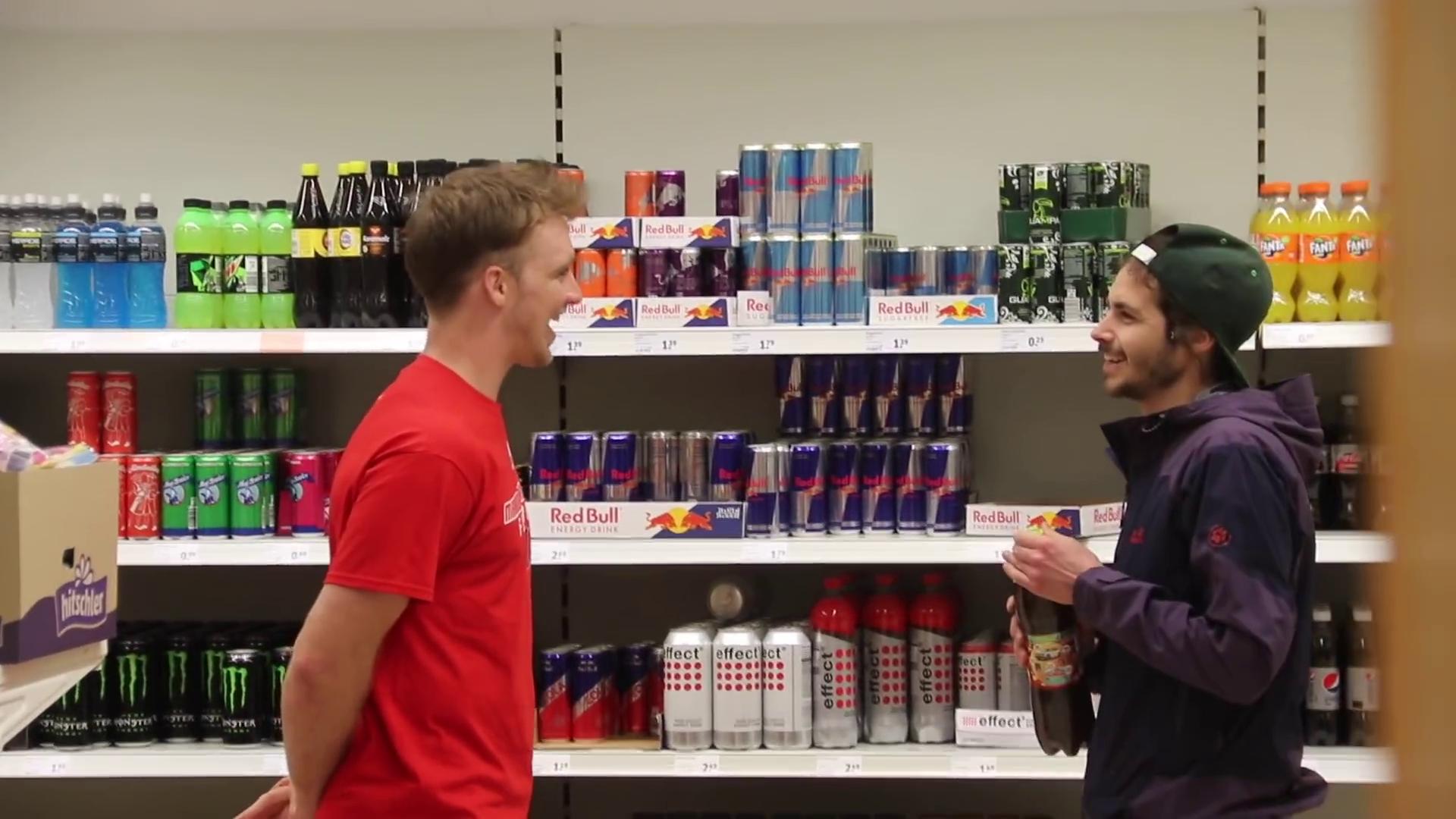 American tries to speak German at the grocery store