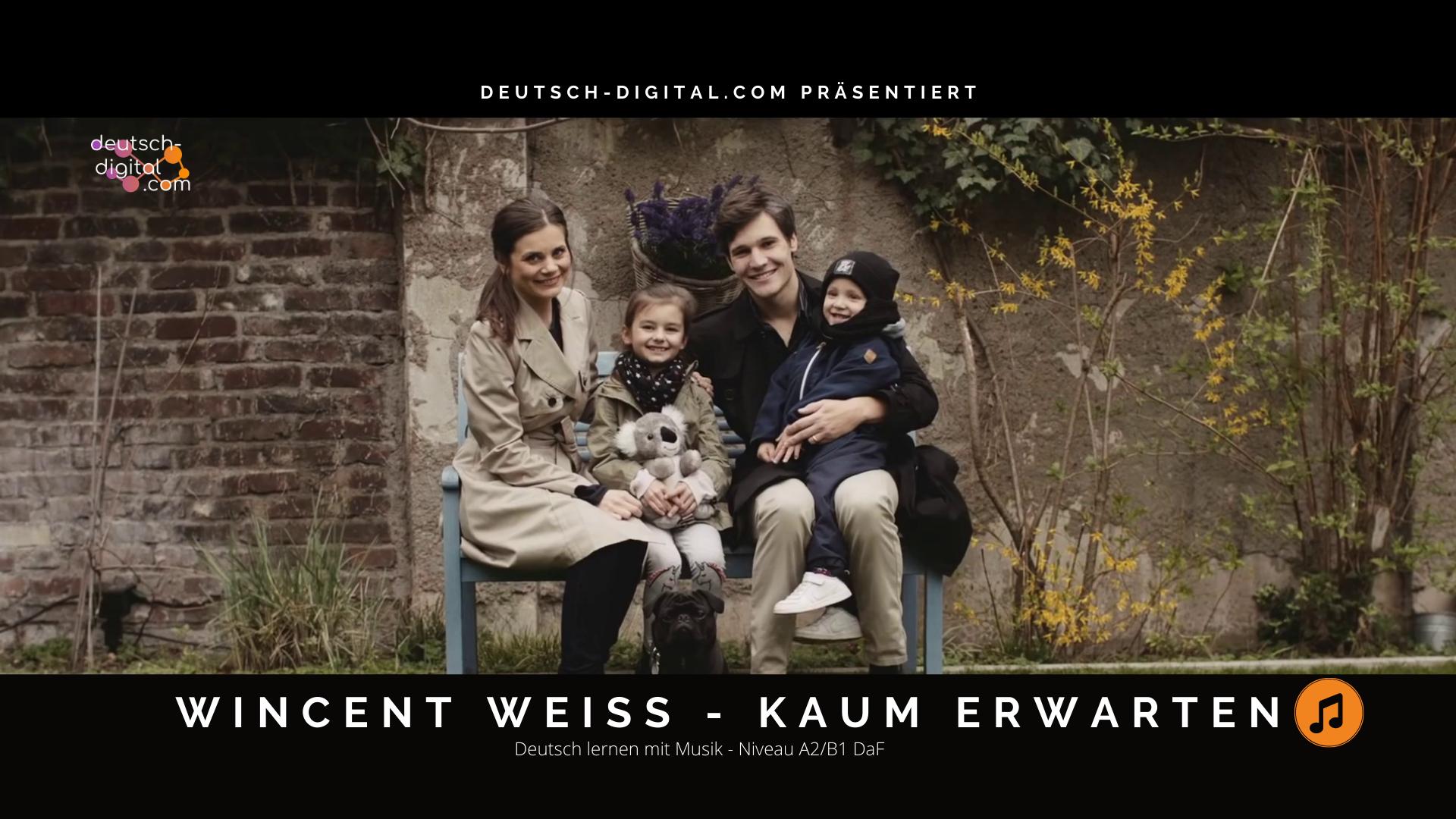 Kaum erwarten – Wincent Weiss