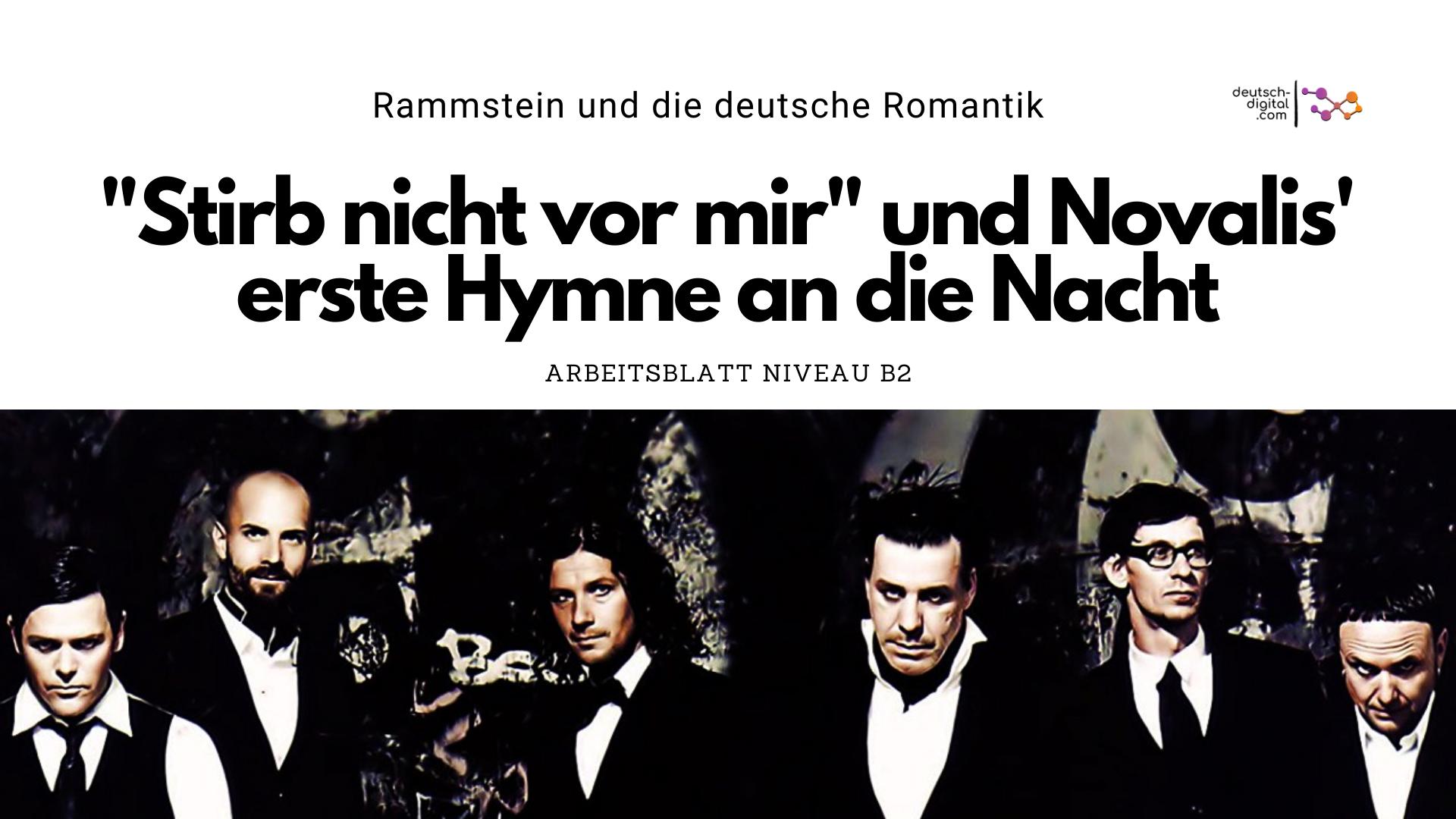 Rammstein – Stirb nicht vor mir