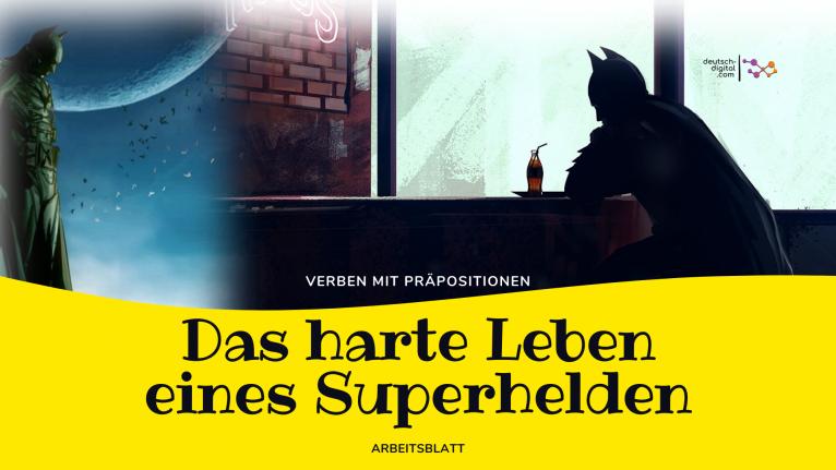 Das harte Leben eines Superhelden